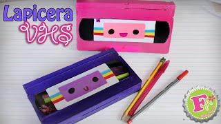 Haz  tu propia Lapicera con cassette VHS    Floritere