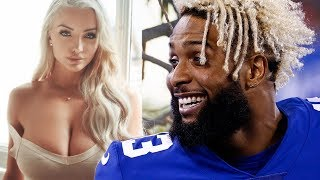 IG Model Lindsey Pelas CHALLENGES Odell Beckham JR To Slide In Her DM's