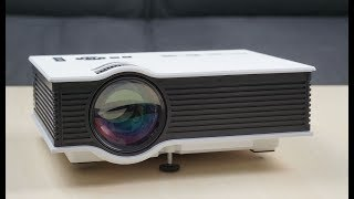 UC46 projector under 5000rs and anycast HDMI dongal at 800rs must watch FULLHD hindi TriOsvaNe