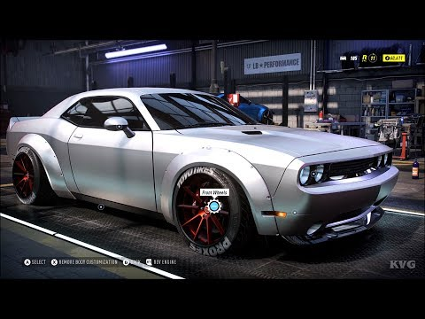 Need for Speed Heat - Dodge Challenger SRT8 2014 (LB-Works) - Customize | Tuning Car HD