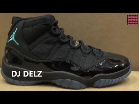 reputable site 307d5 370fd Air Jordan 11 Gamma Blue XI Sneaker Detailed Review Legit Check W   DjDelz  Dj Delz - YouTube