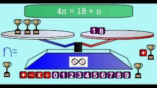 Algebra - Equations on a Balance Scale (6-EE-A-2, 6-EE-B-5, 6-EE-B-6)