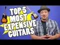Top 5 Most Expensive Guitars | Marty Music