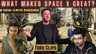 Semi-Cryo Engines and what makes Space X Great?
