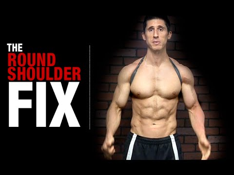 49cdcac441 How to Fix Your Posture (NO MORE ROUNDED SHOULDERS!) - YouTube