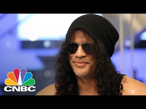 Slash's Fives Songs For The End Of The World | CNBC