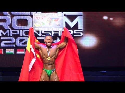 WFF AsiaPac Pro/Am 2017 - Men's Bodybuilding (Performance)*