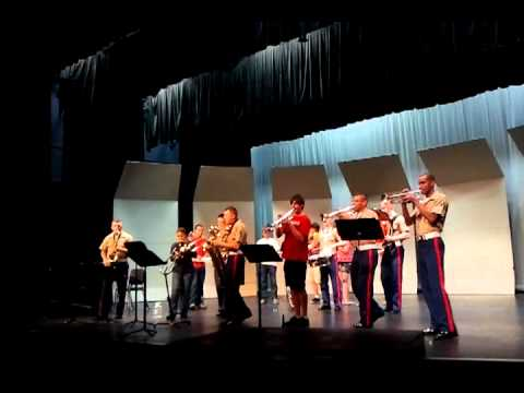 3rd Marine Aircraft Wing Party band w/Liberty High