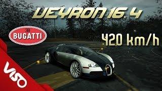 ✔ Need for Speed World Bugatti Veyron 16.4   420 KM/h   99% Full Ultra