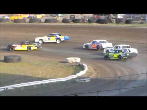 Nodak Speedway IMCA Stock Car Heats (5/7/17)