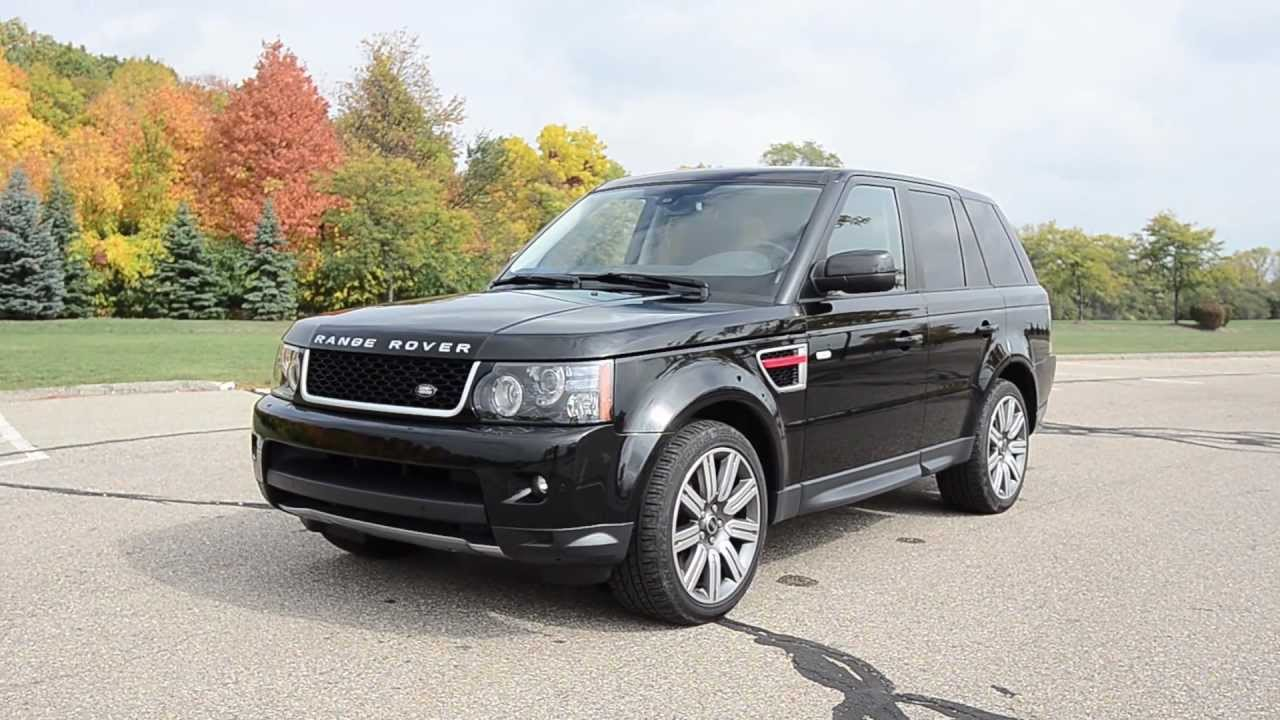 2012 Land Rover Range Rover Sport Supercharged Limited Edition