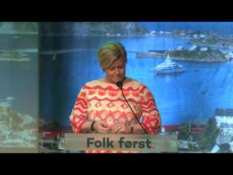 Siv Jensen hilsningstale til Venstres landsmøte 2018