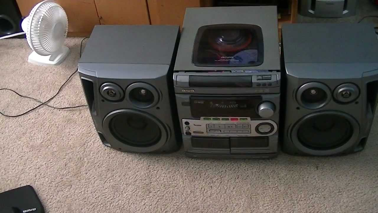 the aiwa cx na50 is playing a cd youtube rh youtube com CD3 CD4 CD3 CD8