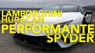 2018 Lamborghini Huracan Performante Spyder Review