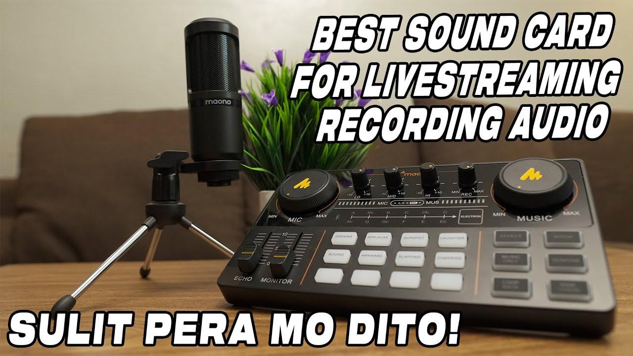Download Sulit Ang Pera Mo Sa Sound Card Na ito | MAONOCASTER LITE AU-AM200