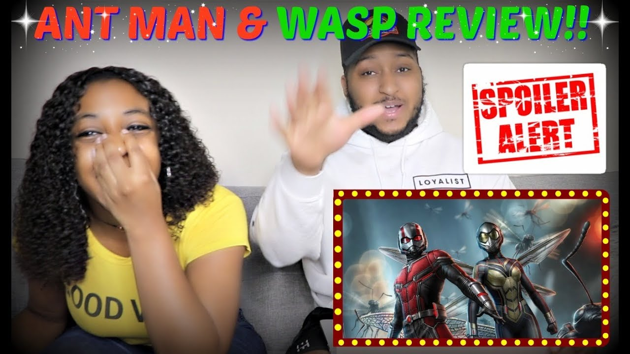 WATCH THE MOVIE FIRST!!   AN ALL OVER THE PLACE REVIEW/SUMMARY OF ANTMAN & THE WASP!!!