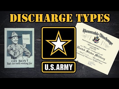 Types of Army discharges