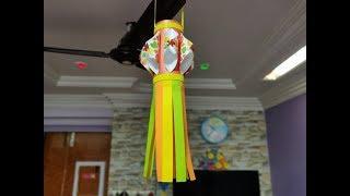 DIY How to Make Paper Lantern for Diwali | Kandil Making | Diwali Decoration Ideas