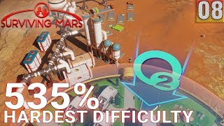 Surviving Mars 535% HARDEST DIFFICULTY - Part 08 - Power Shortage - Gameplay (1440p)