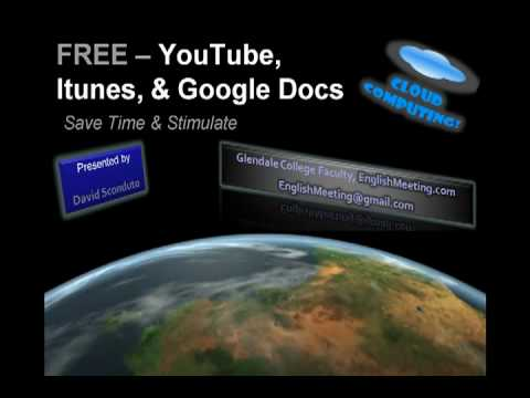 Teacher Training session: Using Youtube, itunes, & Google Docs for instruction