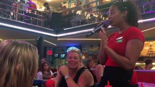 Respect at Ellen's Stardust Diner NYC
