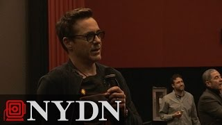 Robert Downey Jr. surprises fans at 'Avengers: Age of Ultron' screening