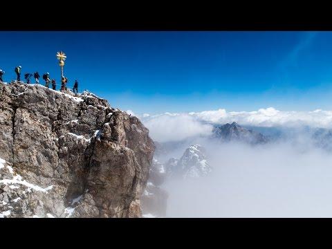 Wanderung auf die Zugspitze - von Garmisch übers Reintal, Reintalangerhütte, Knorrhütte