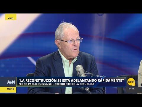 """Pedro Pablo Kuczynski: """"Se está analizando el indulto a Alberto Fujimori""""│RPP"""