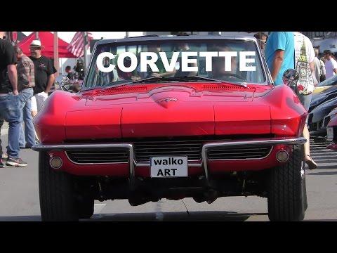 WOW! CORVETTE -Treffen Motorworld Region Stuttgart / CORVETTE meeting Böblingen 2016 - 4K VIDEO