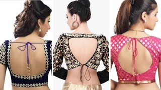 WOW !! Beautiful Back Neck Blouse designs 2018 | Women