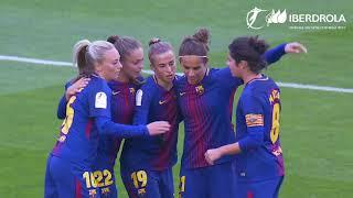 Barcelona 6-1 Real Betis, Liga Femenina Iberdrola