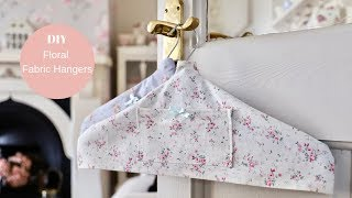 How to make DIY fabric hangers