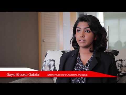 HELP University Law Program Alumni - Ms. Gayle Brooke, Attorney General's Chambers