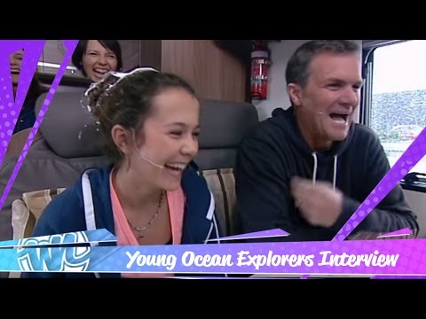 Young Ocean Explorers tell us about their travels!