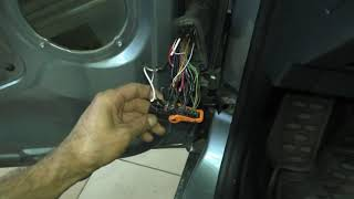 Skoda ремонт проводки не работает ABS и проводка двери