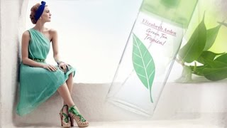 Green Tea Tropical Elizabeth Arden for women EDT Perfume Review Fragrance Review