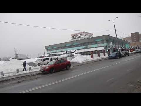 Москва | Царицино | мимо рынка по улицам Каспийской и Товарищской