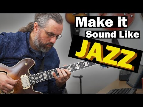 How To Sound Like Jazz - It Is All Phrasing