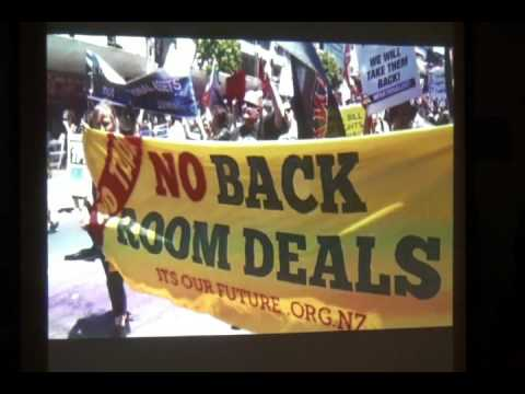 Taking Action Against TPP Threat to Climate, US Sovereignty,