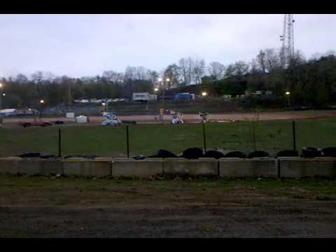 Blanket Hill Speedway Micro Sprint Heat 4/17/10
