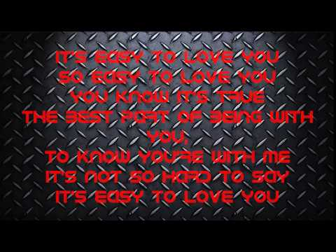 Easy To Love You LYRICS by Theory of a Deadman