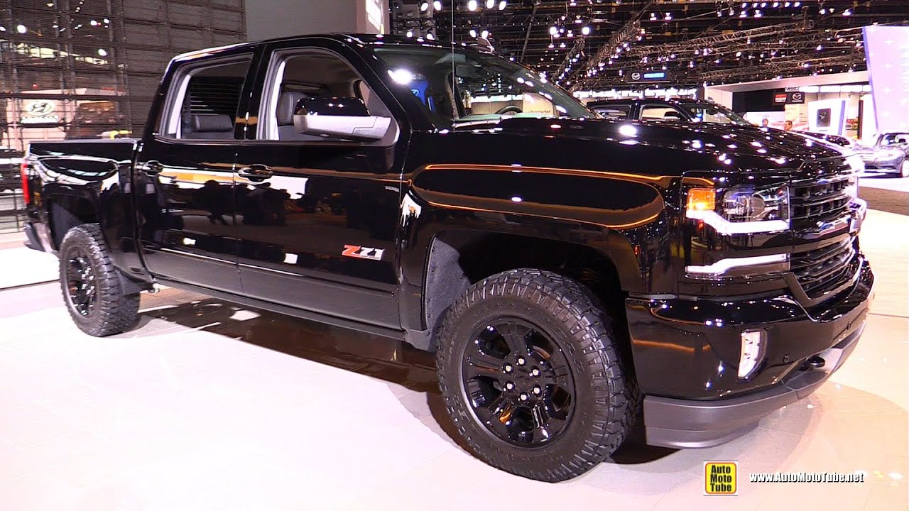 2016 chevrolet silverado ltz z71 midnight edition exterior and interior walkaround youtube. Black Bedroom Furniture Sets. Home Design Ideas