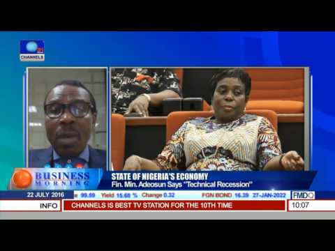Business Morning: Bismark Rewane Speaks On The State Of Nigeria's Economy 22/07/16