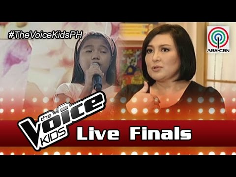 The Voice Kids Philippines Season 3 Live Finals: Coach Sharon on Antonetthe