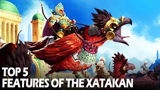 Top 5 Features of the Xatakan Empire (sponsored video 2/3)