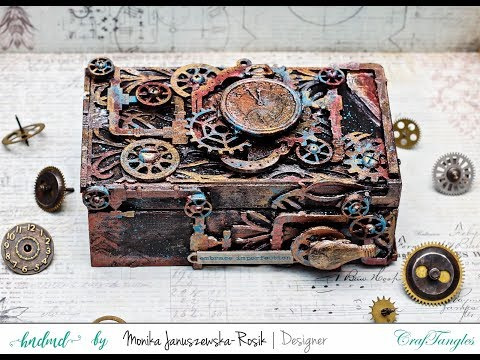 How To Alter A Box Using Mixed Media Techniques