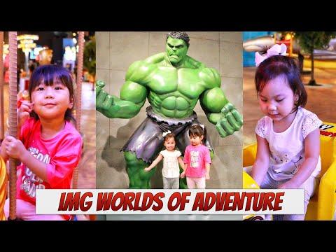 IMG Worlds of Adventure Indoor Theme Park | Dubai 2020
