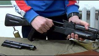 Ученики уссурийских школ взяли в руки боевое оружие