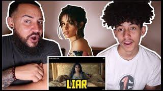 Gambar cover Camila Cabello - Liar - REACTION
