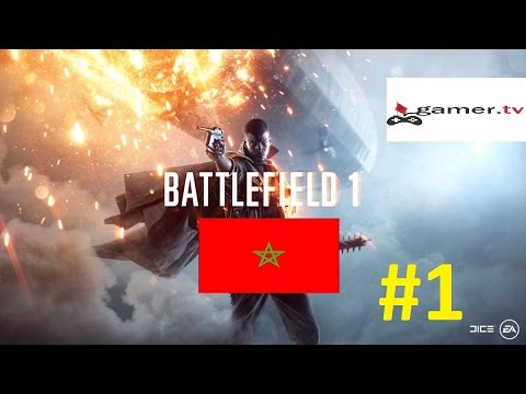 Battlefield 1 Gameplay Multiplayer #Gamer Morocco Forever